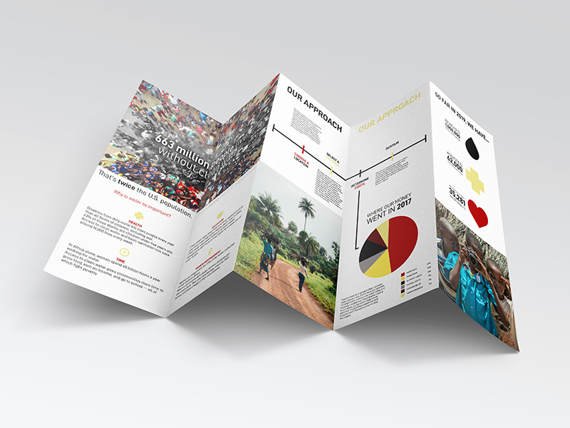 groundworks nonprofit brochure design