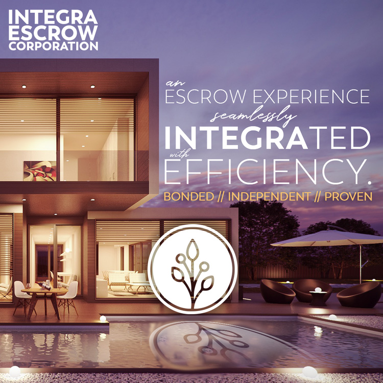 integra escrow social media design