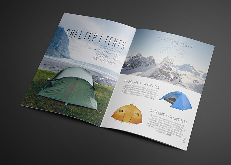 shelter tent magazine layout