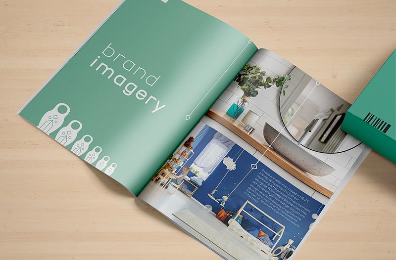 nest home decor brand book