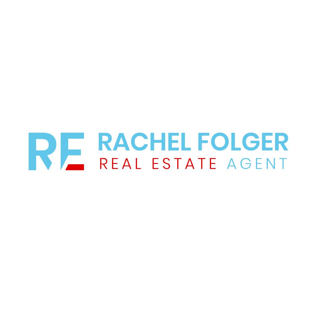 rachel folger real estate colorado logo design