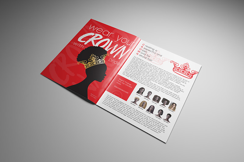 magazine layout print design