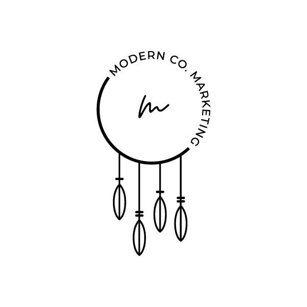 modern co marketing logo design colorado