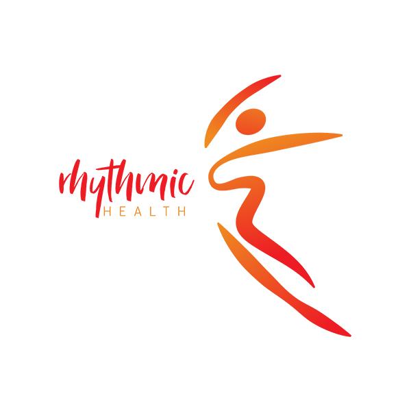 rhythmic health logo design