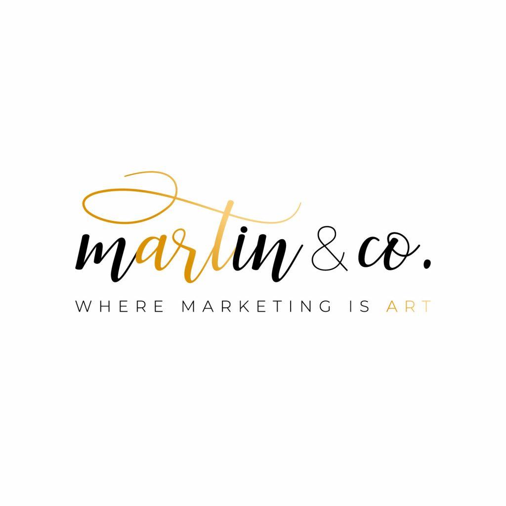 martin and co marketing logo design