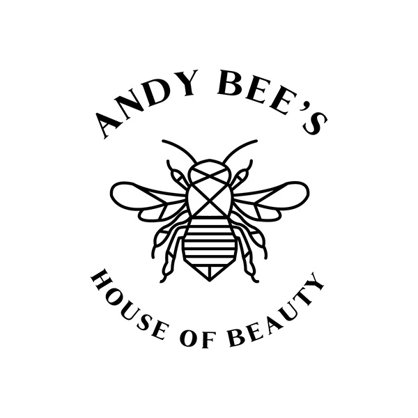 andy bee's house of beauty logo design